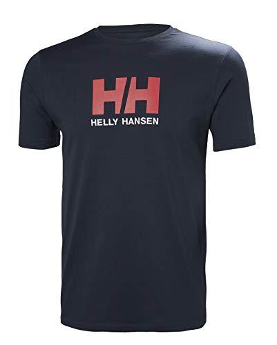 Helly Hansen Logo T-shirt Camiseta de manga corta hecha de algodón, con logo HH en el pecho