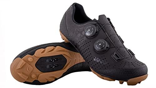 LUCK Zapatillas MTB Galaxy Calaveras. Zapatos Ciclismo Montaña para Hombre y Mujer. Suela de Carbono. Doble...