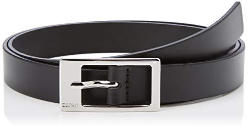 Esprit Accessoires 999ea1s806 Cinturón, Negro (Black 001), 115 (Talla del Fabricante: 100) para Mujer