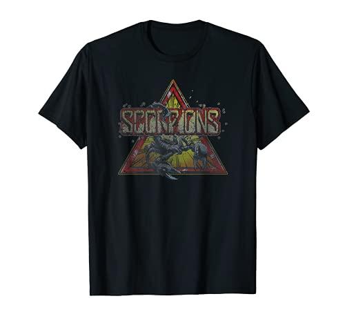 Scorpions - Triangle Scorpion Camiseta