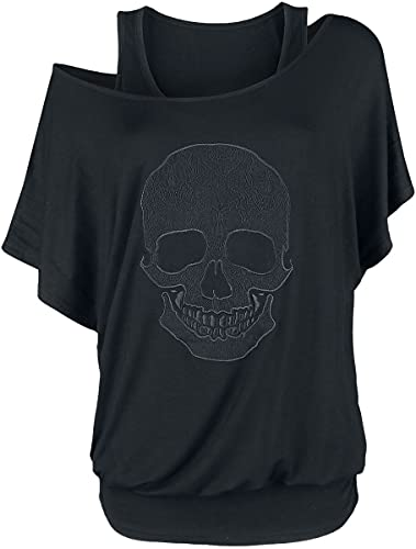 Rock Rebel by EMP When The Heart Rules The Mind Mujer Camiseta Negro XL