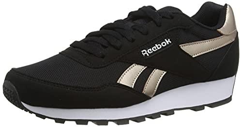 Reebok Rewind Run, Zapatillas de Running Mujer, Negro/ROSGOL/Blanco, 38 EU