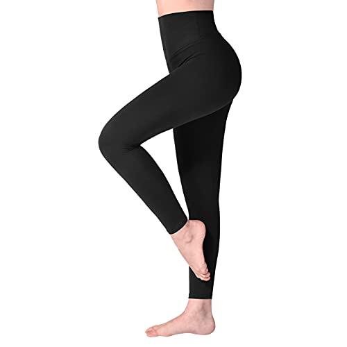 SINOPHANT Leggins Mujer, Pantalon Deporte Yoga Mujer, Leggings Mujer Fitness Suaves Elásticos Cintura Alta...