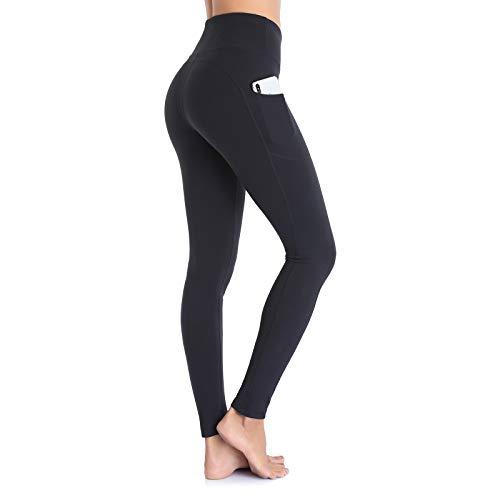 Ollrynns Leggins Deportivos Mujer Cintura Alta Pantalones Deportivos Mallas Leggings con Bolsillos para...
