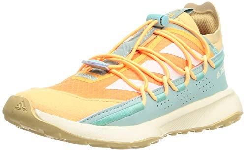 adidas Terrex Voyager 21 W, Zapatillas de Senderismo Mujer, NARCHI/BLACRE/VERBRU, 41 1/3 EU