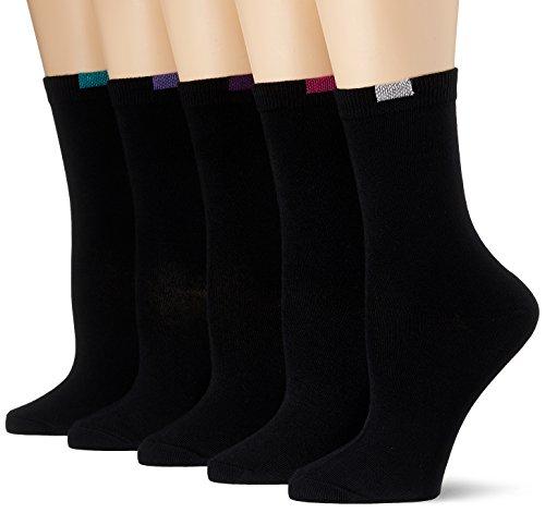 Dim Mi- chaussette Ecodim X5 Calcetines, Negro (Noir), Talla única (Talla del Fabricante: TU) (Pack de 5)...