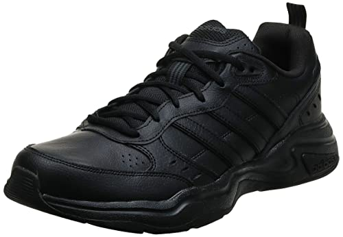 adidas Strutter, Sneaker Hombre, Negro Core Black Core Black Grey, 43 1/3 EU