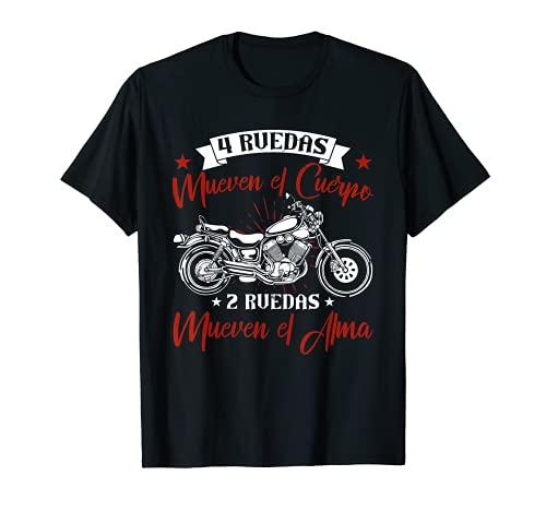 Motero Biker Regalos Motoristas Estilo De Vida En Moto Camiseta