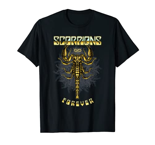 Scorpions - Forever (Front and Back) Camiseta