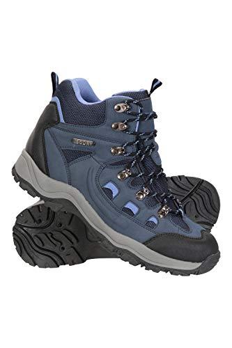 Mountain Warehouse Botas impermeables para lluvia - Zapatos para mujer con agarre adicional - Calzado para...