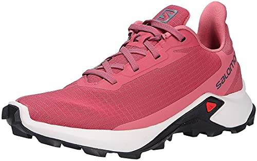 Salomon Alphacross 3 Mujer Zapatos de trail running, Rojo (Earth Red/Lunar Rock/Mauve Wood), 37 1/3 EU
