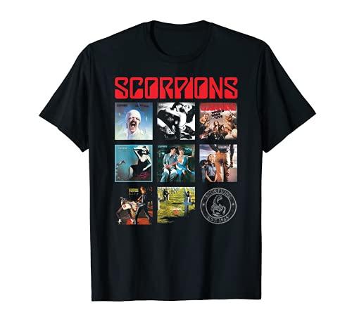 Scorpions – Classic Albums Grid Camiseta