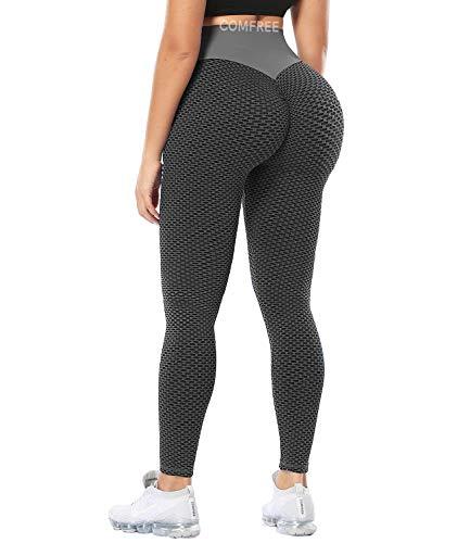 COMFREE Leggings Mujer Mallas Deportivos Leggins Push Up Leguins Yoga Legins Deporte Fitness Pantalones...