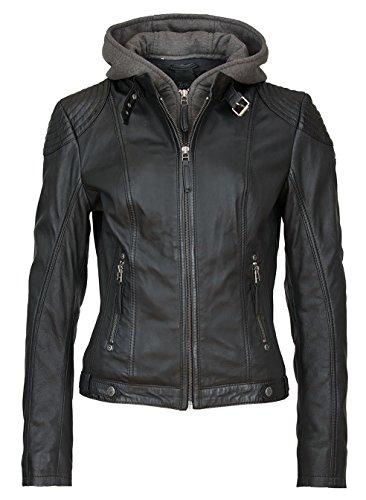 Gipsy Cacey LEGV Chaqueta, Negro (Black 000), L para Mujer