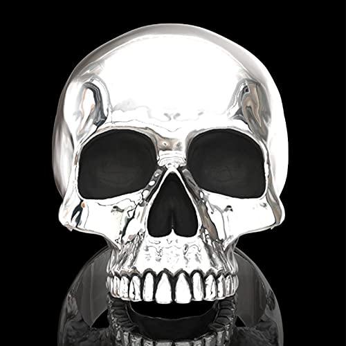 Anillo Gótico Steam Punk De Halloween - Anillo De Terror De Calavera Pulida De 7 Estilos, Anillo De...