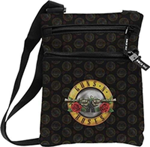 Guns N' Roses Logotipo de Rosas (Bolsa de Cuerpo) [Vinilo]