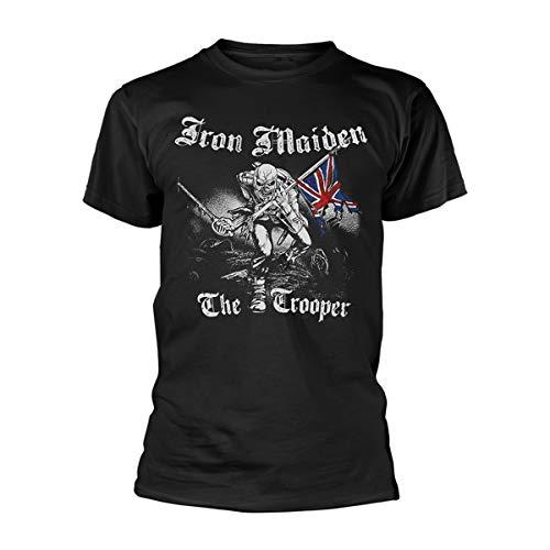 T-Shirt # M Black Unisex # Sketched Trooper