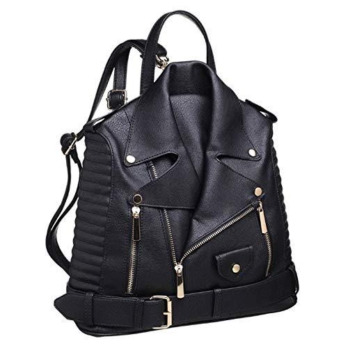 Paula Rossi bolso mochila mujer antirrobo chaqueta casual negro baratos barata elegante grande original...