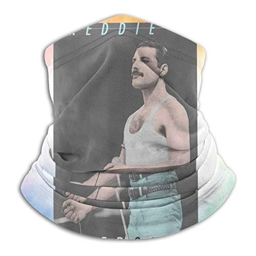 485 Calentador De Cuello para Hombre Mujer,Fred-Die Me-Rcury,Cuello Bufanda Respirable Polainas De Cuello...