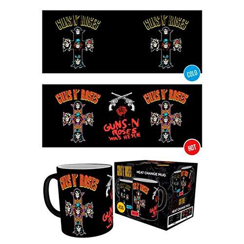 GB Eye LTD, Guns N Roses, Cross, Taza Mágica cambiante de color